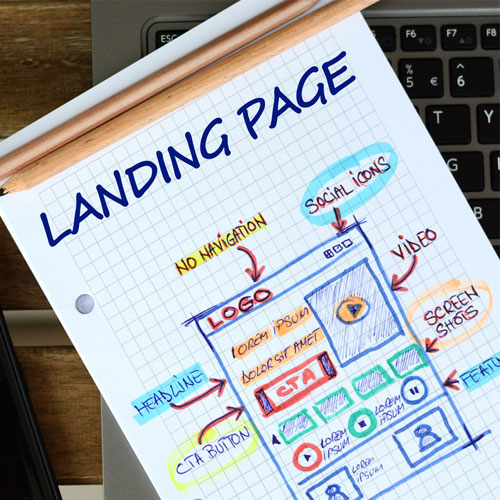 landing page design company