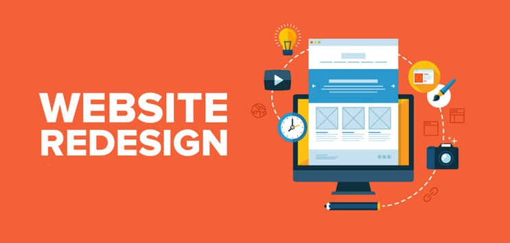 website redisigning services